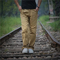 Plus Size Army Green Cargo Pants Men Autumn And Winter Long Black Cotton Military Style Trousers With Many Pockets A2563
