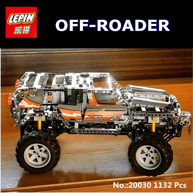 In-Stock Lepin 20030 1132Pcs  Ultimate Series The Off-Roader Set Children Educational Building Blocks Bricks Toys Model Gifts in stock lepin 02012 774pcs city series deepwater exploration vessel children educational building blocks bricks toys model gift