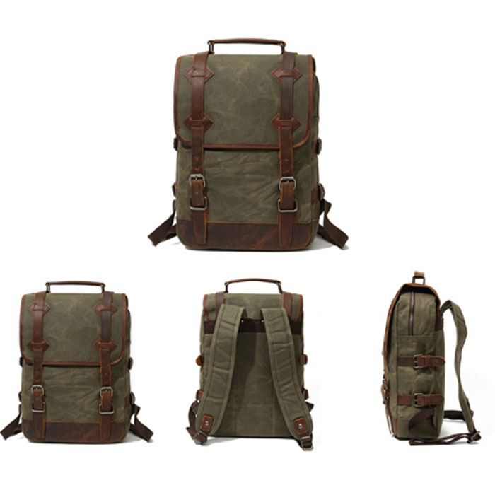 New Vintage Backpack Canvas Men shoulder bags Leisure Travel School Bag Unisex Laptop Backpacks Men Backpack Mochilas armygreen панель приборов для мотоцикла yamaha jym ybr125