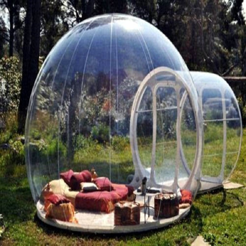 Bubble Lodge ukuran 5 * 4 * 3 M (sekitar 16.5 * 13 * 9.8 kaki) tiup - Hiburan dan olahraga luar ruangan - Foto 3