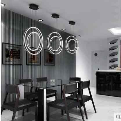 الحديثة الحد الأدنى LED مكتب قطاع الثريا الإبداعية شخصية خط مصباح الجبهة مكتب دراسة الإنترنت مقهى مصباح إضاءة البار مصباح ليد