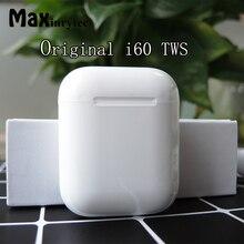I60 TWS всплывающие 1:1 Размер беспроводные Bluetooth наушники раздельное использование QI Беспроводная зарядка бас наушники PK i30 i100 i12 i10 TWS
