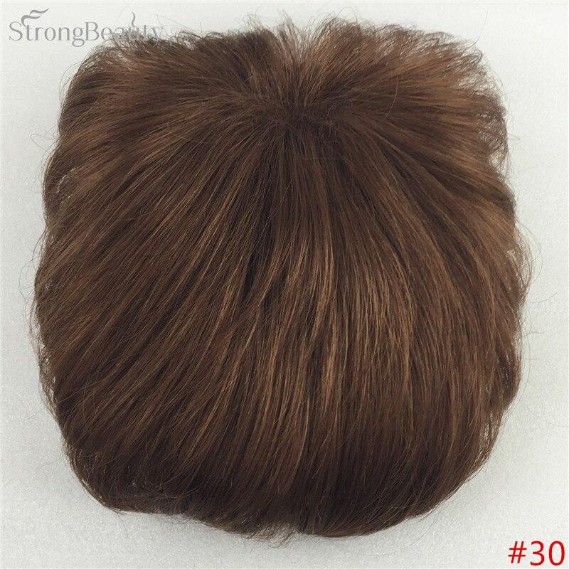 Сильная красота парик синтетические волосы парик выпадение волос топ кусок парики 36 цветов на выбор - Цвет: #30
