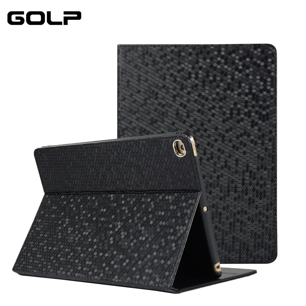 Caso para o iPad 2/3/4 Caso GOLP Ultra Slim Virar Stand com Auto Sleep/Wake up Matte Caso Smart Cover para iPad 4 3 2