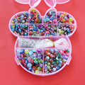 DIY Plastic Acrylic Bead Kit Accessories Girl Toys Jewelry Making Kids Beads Set Latest charming Necklaces BDH020