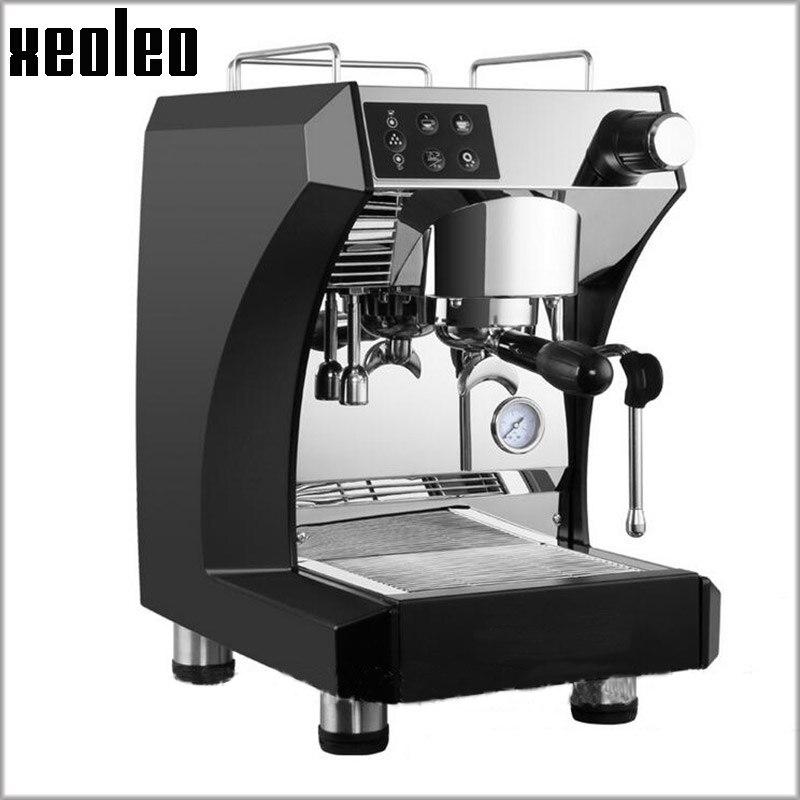 XEOLEO 3000W Coffee maker 15Bar ulka pump Commercial Coffee machine Full Automatic Stainless steel Espresso Coffee maker