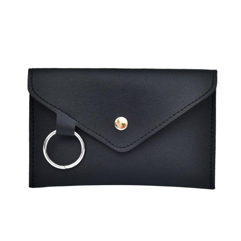 2018 Frauen Einfache Umschlag Weichen Pu Leder Taille Pack Feste Beiläufige Gürtel Tasche Multifunctin Tragbare Brust Tasche Mädchen Fanny Pack Neue Starke Verpackung