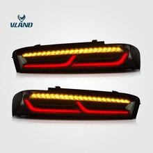 Vland светодиодный задний фонарь для Chevrolet Camaro 2015-2017 6-й стоп-сигнал задний фонарь