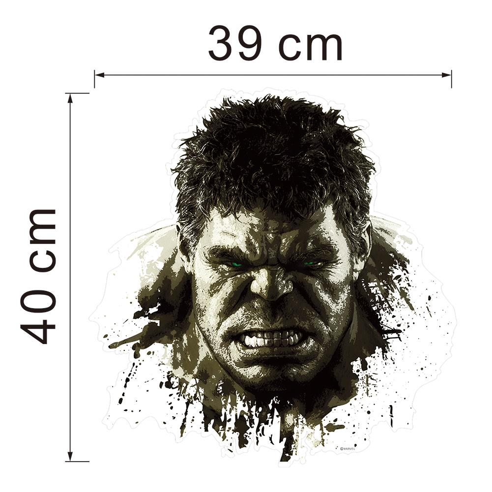 HTB1sqw8JFXXXXctXFXXq6xXFXXX3 - Superheroes Comic Avengers The Incredible HULK Wall Sticker For Kids Room