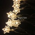 3M 24 LED star string lights Battery Operated Garland LED Christmas decorations Festival outdoor Wedding Garland Home Decor