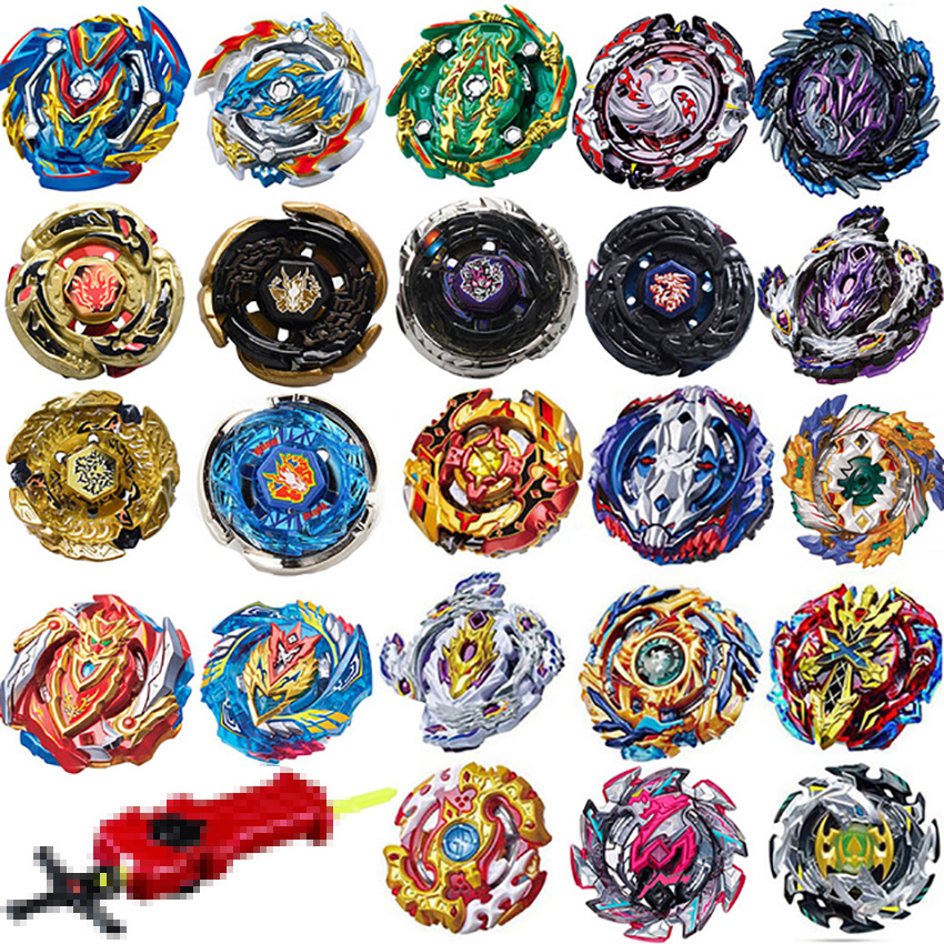 Top Launchers <font><b>Beyblade</b></font> Burst Toys <font><b>B</b></font>-139 <font><b>B</b></font>-134 <font><b>B</b></font>-<font><b>135</b></font> bables Toupie Bayblade burst Metal God Spinning Tops Bey Blade Blades Toy image
