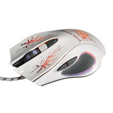 E5 2017 Mecall fashion gaming mouse New 6D LED Optical USB Wired 5500 DPI PRO Game Mouse For PC Laptop Gaming
