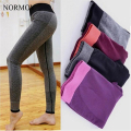 NORMOV S-XL Women Adventure Time Leggings Workout Legging High Waist Cotton Leggings Push Up Active Stretch Slim Leggings Women