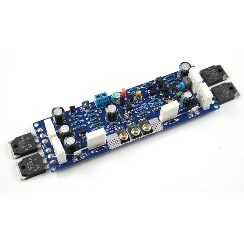 2 PCS LJM L12-2 Power Amplifier Kit Dual Channel Ultra-low Distortion Amplifier Classic AMP DIY Kit