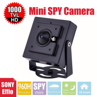 Vanxse CCTV 1 3 Sony Effio 1000TVL 960H Security Camera D N Mini Surveillance Camera