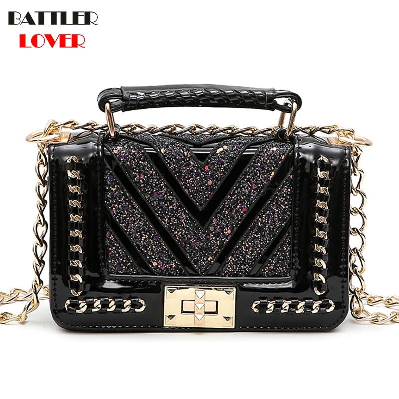 European Fashion Female Square Bag 2019 New Quality PU Leather Women
