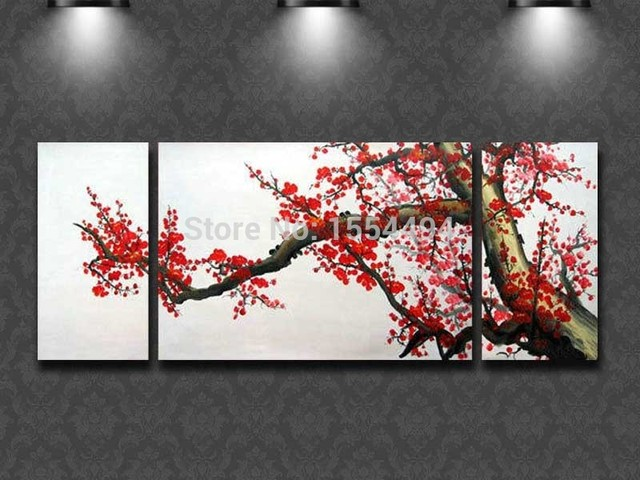 Aliexpress.com : Buy Framed hand painted large modern canvas oil ...
