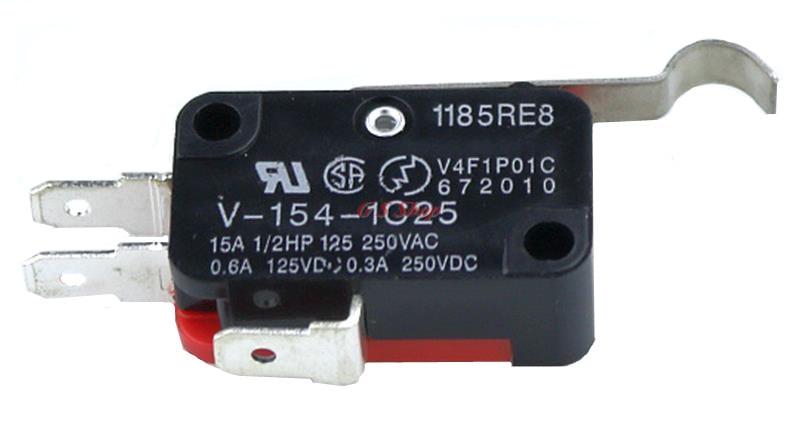 5 stücke V-154-1C25 15A, 250 v Micro Limit Switch Push Button SPDT Momentary Snap Action Tipp schalter reise schalter