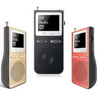 IQQ HIFI MP3 Music Player Radio Portatil 8GB Reproductor mp3 Built in Speaker 100 Hours USB FM mp3