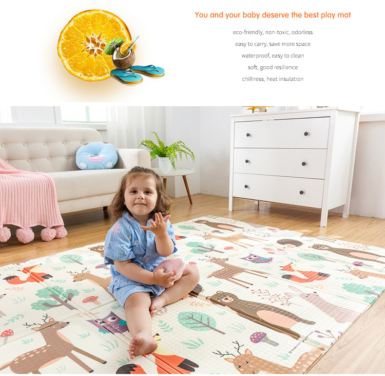 HTB1sqyQcvWG3KVjSZFgq6zTspXap Infant Shining Baby Play Mat Xpe Puzzle Children's Mat Thickened Tapete Infantil Baby Room Crawling Pad Folding Mat Baby Carpet