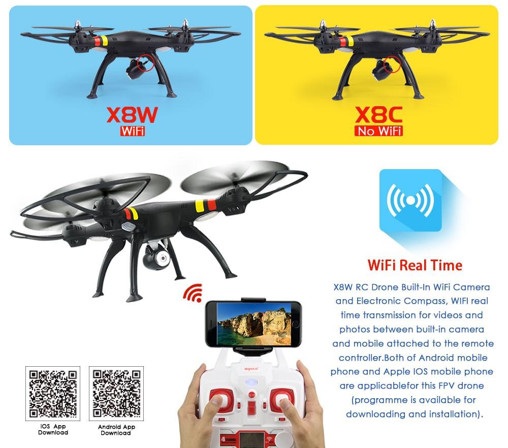 HTB1sqyXMXXXXXXZXVXXq6xXFXXXo - SYMA X8W WiFi fpv RC Quadcopter Профессиональный 2.4 г 6 оси SYMA X8C Радиоуправляемый Дрон с 2MP камера HD вертолет с VS SYMA X8HG