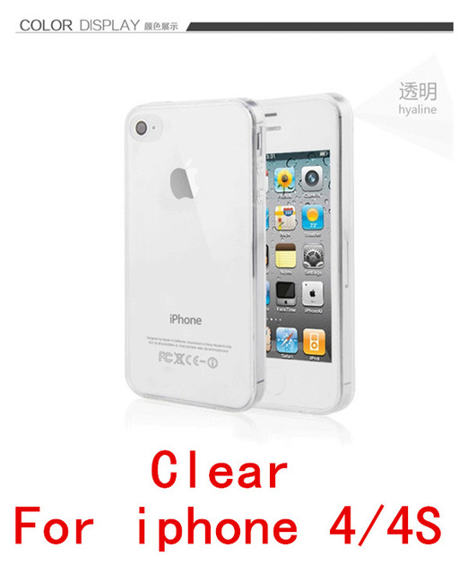 2016 new 0.3mm Crystal Clear Soft Silicone Transparent TPU Case cover for iphone 5 5S 4 4s 6 6S 6 7 Plus