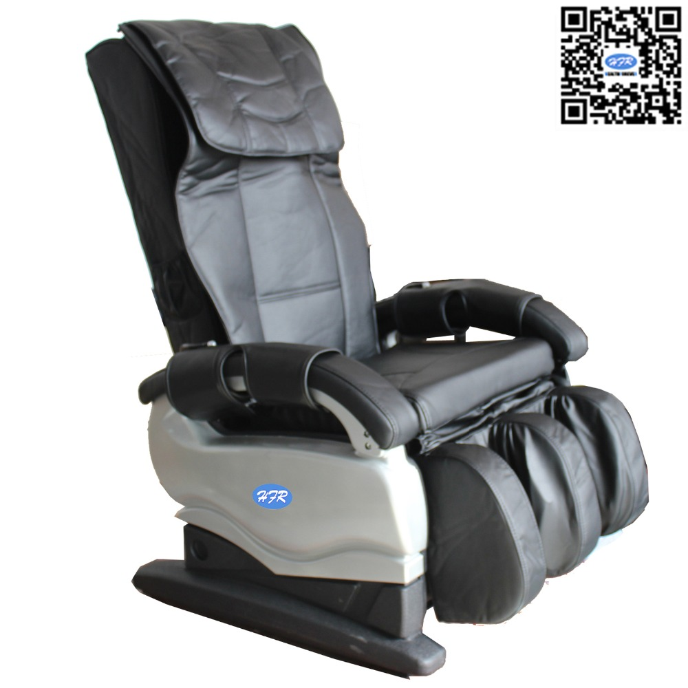 HFR-888-1 Healthforever Brand Kneading and Vibration Multi-function Full Body Electric Relax Simple Cheap Massage Chair in India hfr 8802 3 healthforever brand wireless control kneading device legs instrument electric shiatsu air bag foot massager machine