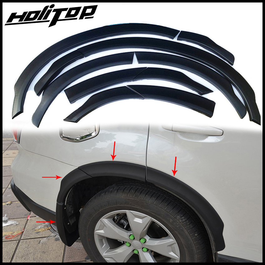 Satin BLACK Wheel Arch Arches Guard Protector Moulding fits SUBARU ...