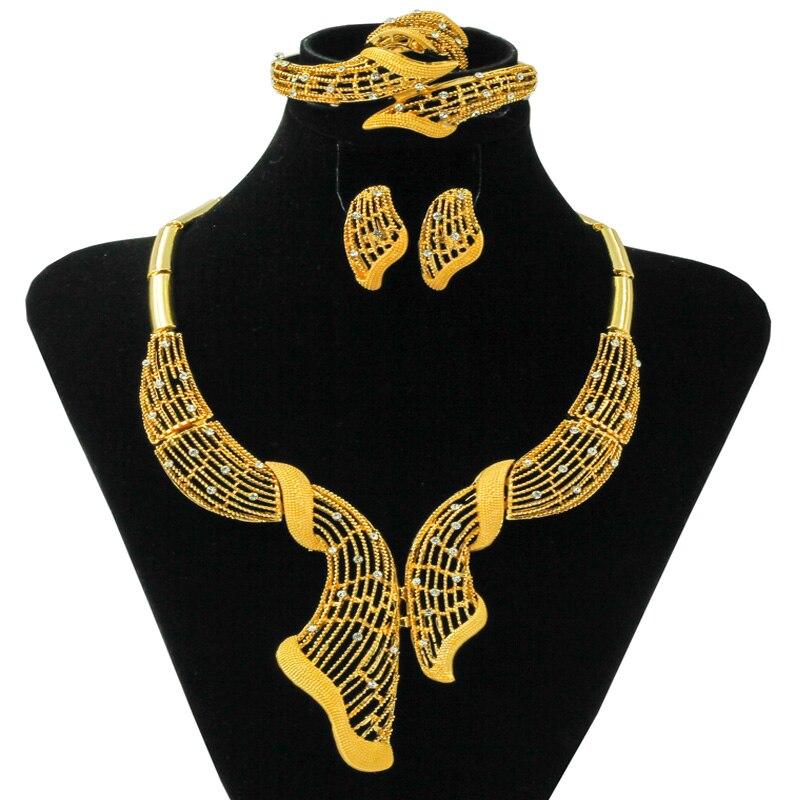 ИУ CZ новый список Африка новый полый Цепочки и ожерелья Аксессуары модные очаровательные Нигерия золотые свадебные длинная куртка с секция...