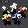 5 colors For HONDA CBR600 F4I CBR650F CB650F  Motorcycle CNC Billet Clutch Cable Wire Adjuster Screw M8*1.25