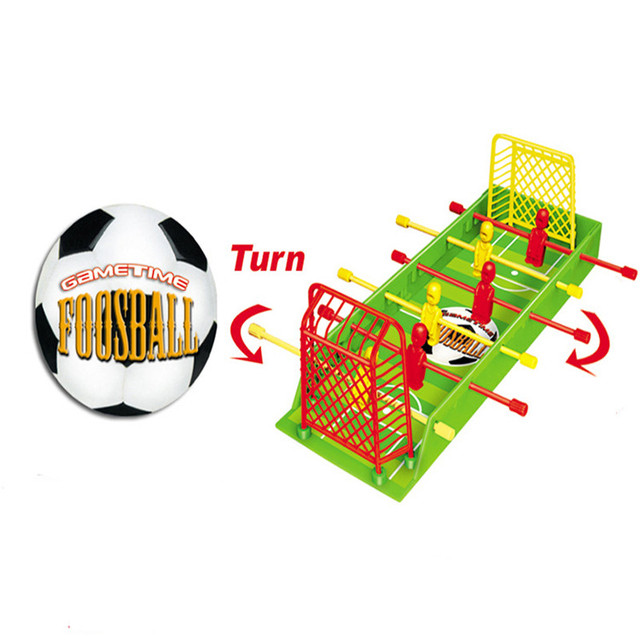 Enfant de Mini Tables De Soccer Enfants Maison Jouet Quatre Tige Baby-Foot  Famille Jeu 3a0c4f88030f