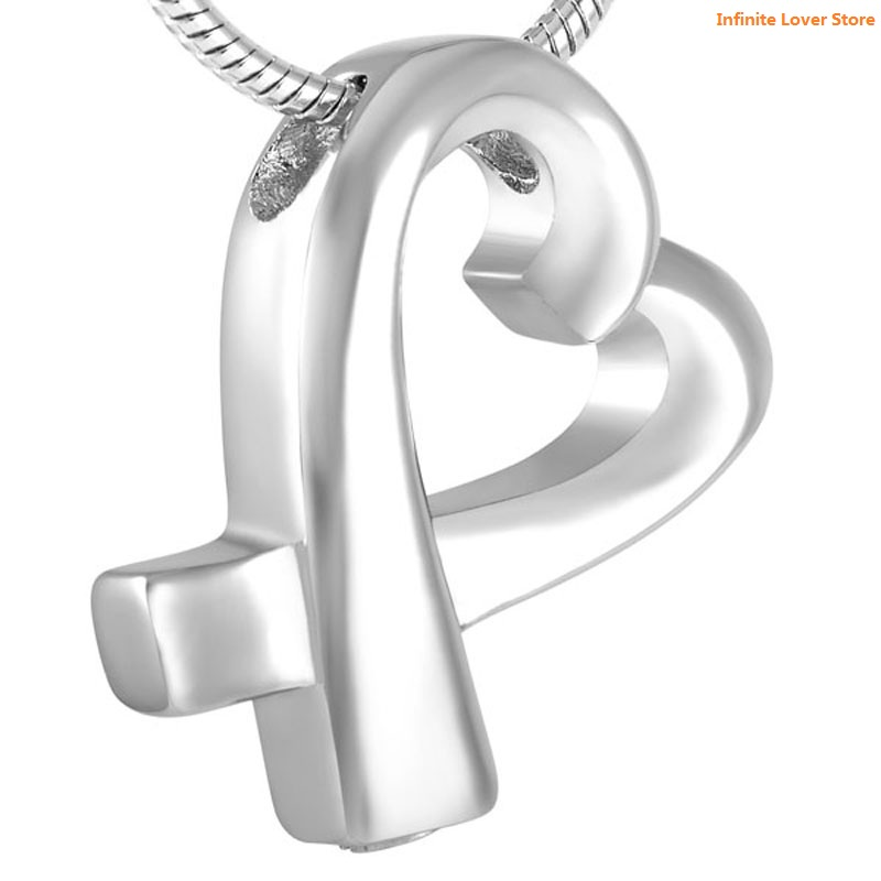 KLH8726 Wholesale Cheap Price!!!Ribbon Memorial Ash Necklace Heart Cremation Urn Pendant Necklace Funeral Ashes Casket JewelryKLH8726 Wholesale Cheap Price!!!Ribbon Memorial Ash Necklace Heart Cremation Urn Pendant Necklace Funeral Ashes Casket Jewelry