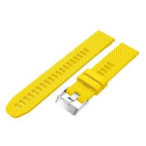 Image 5 - 20ミリメートル時計バンドストラップガーミンフェニックス5の腕時計クイックリリースシリコン簡単フィット手首バンドストラップガーミンフェニックス5 4s/5sプラス