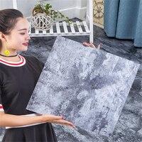 PVC self adhesive flooring stone carpet pattern free plastic leather waterproof thick wear resistant living room bedroom floor