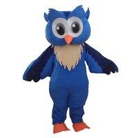 Blue Owl mascot costume custom mascot carnival fancy dress costumes school mascot college mascot