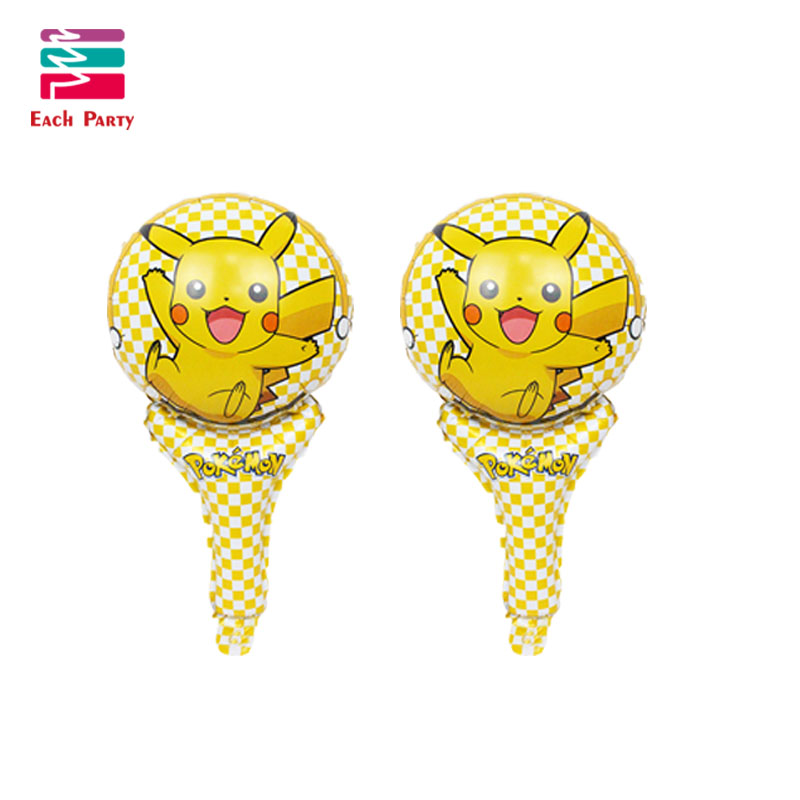 Cartoon Pikachu Pokemon Go Foil Balloons Children Inflatable toys Helium balloons birthday party decorations kids Party Supplies