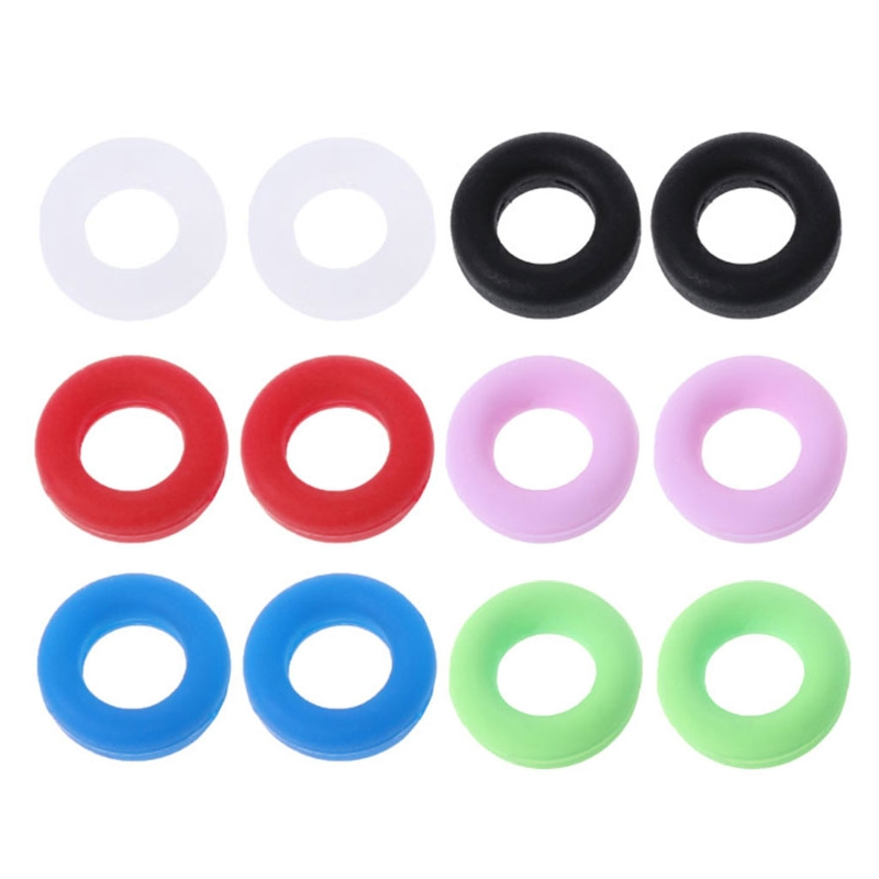 Glasses Ear Hooks Round Anti Slip Silicone Grips Eyeglasses Sports Temple Tips