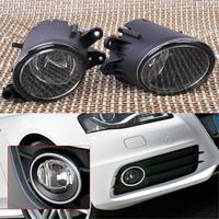 OEM 8E0941700B 8E0941699B Black Pair Left Right Fog Light Lamp For Audi A4 B7 Quattro S4