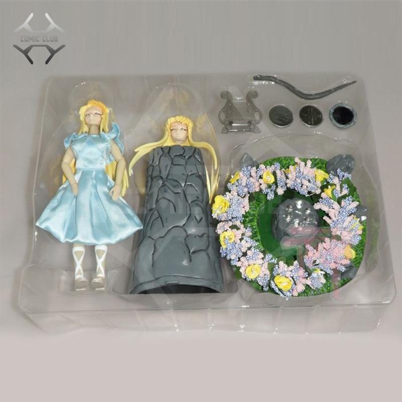 COMIC CLUB Saint Seiya Myth Cloth Eurydice Lyre Orpheus Lover contain led light Figure