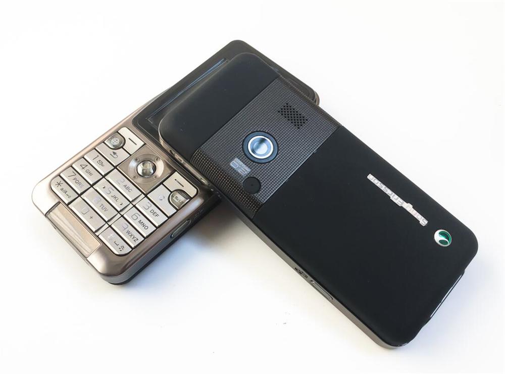 Refurbished phone Original Sony Ericsson K530 Unlocked Cell Phone 2MP Camera Bluetooth red 6