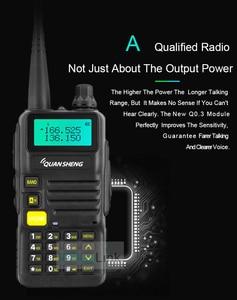 Image 4 - QuanSheng UV R50 TG UV2 Walkie Talkie UV R50 2 UHF VHF 5W Two way Radio 3300mAh Portable Quansheng UV R50( 1) Ham Radio TG UV50R