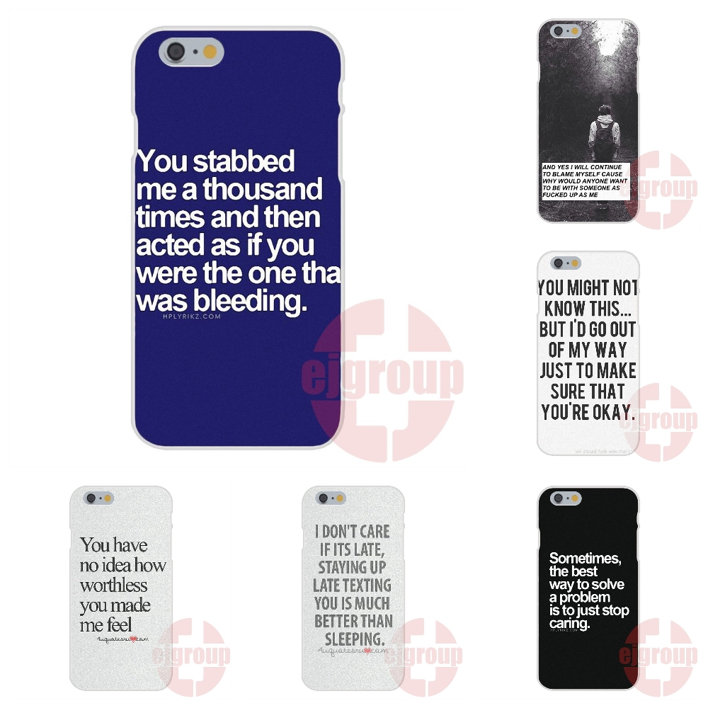 Cell Phone Quotes I Don't Care Quotes Tumblr Soft Tpu Silicon Cell Phone Case Cover