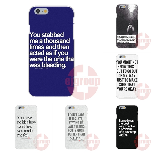 I Dont Care Quotes Tumblr Soft Tpu Silicon Cell Phone Case Cover