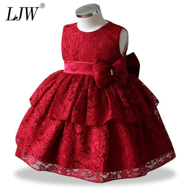Cánh hoa Bé Bé Gái Trẻ Sơ Sinh Công Chúa Ren Tutu Váy Bé Cô Gái Đám Cưới Ăn Mặc Trẻ Em Bên Vestidos cho Bé 1 Năm sinh nhật