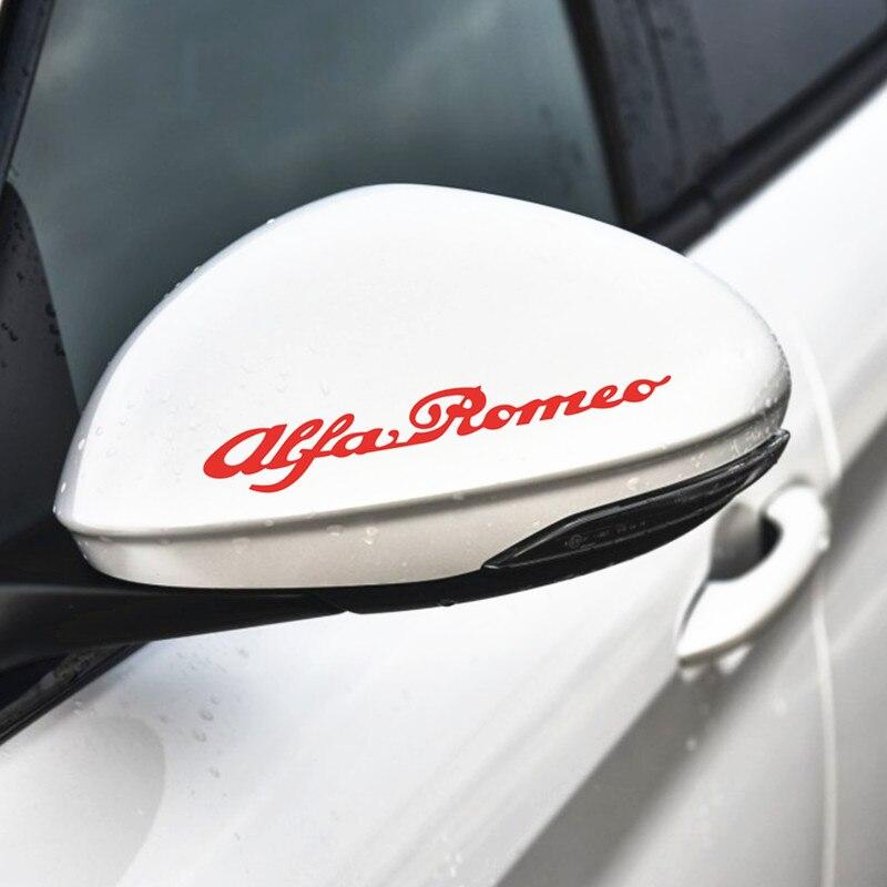 Image 5 - 4 шт. для Alfa Romeo Литые виниловые наклейки для тормозного суппорта наклейки для автомобиля логотип эмблема значок наклейки для giulietta Mito 147 156 159 166-in Наклейки на автомобиль from Автомобили и мотоциклы