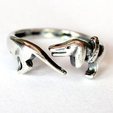 Фото оптовая продажа регулируемое кольцо в стиле ретро панк такса
