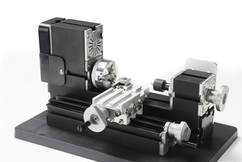 Big Power Mini Metal Lathe Machine TZ20002M best gift for children and students big big самосвал mini power worker mini kipper
