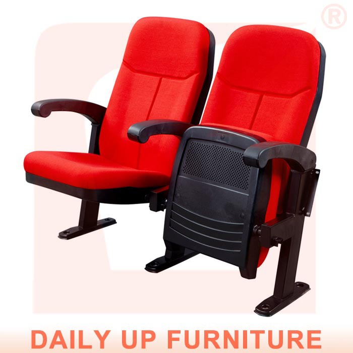 folding auditorium theater chair with arm comfortable conference