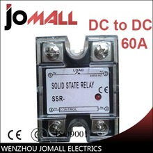 цена на SSR -60DD DC control DC SSR Single phase Solid state relay 220V