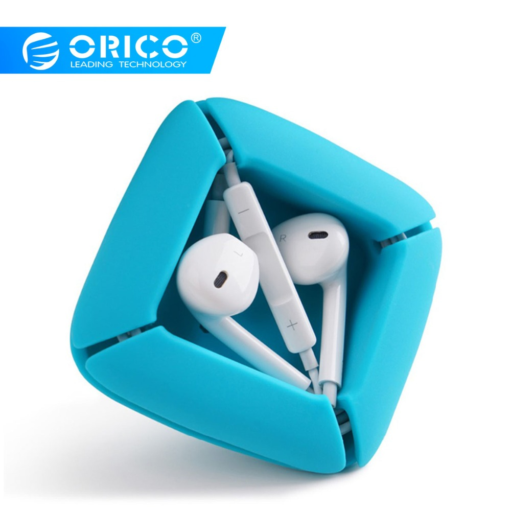 ORICO ELR1 Silicone Earphone Cable Winder Storage Holder Mini Earbuds Cord Wrap